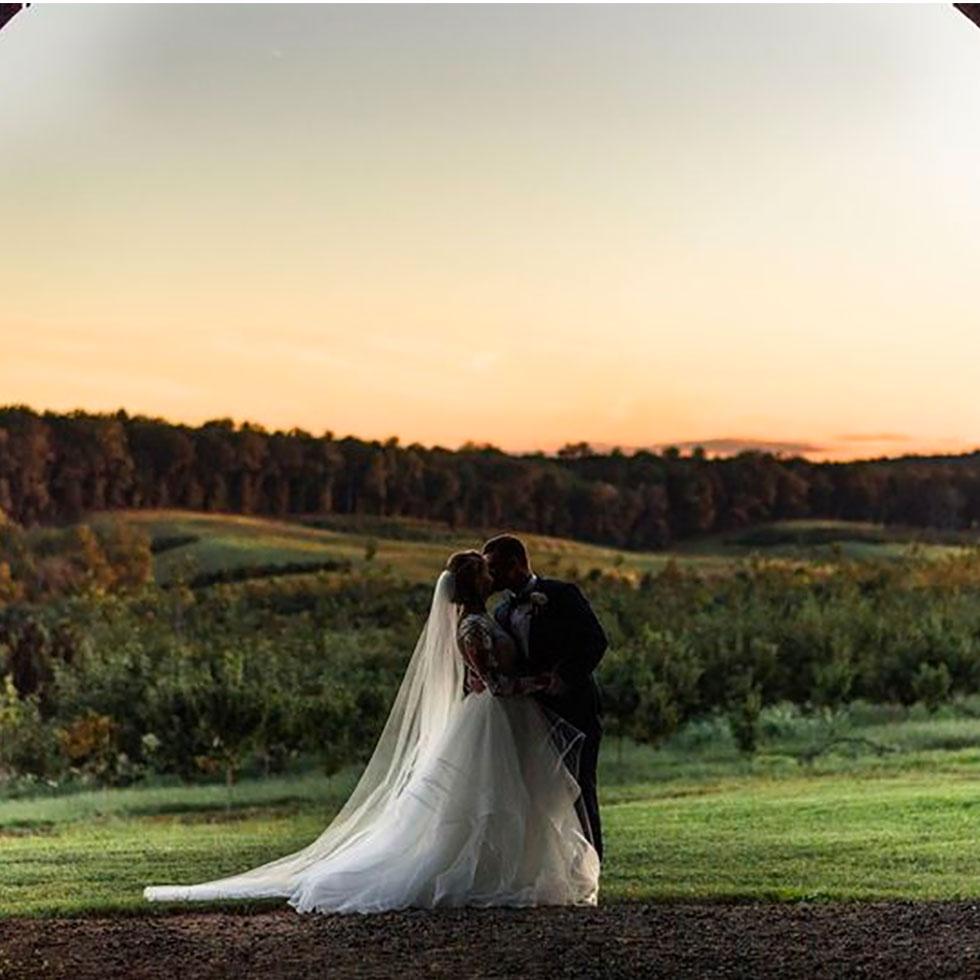 magical wedding venue set on a 600-acre tree nursery