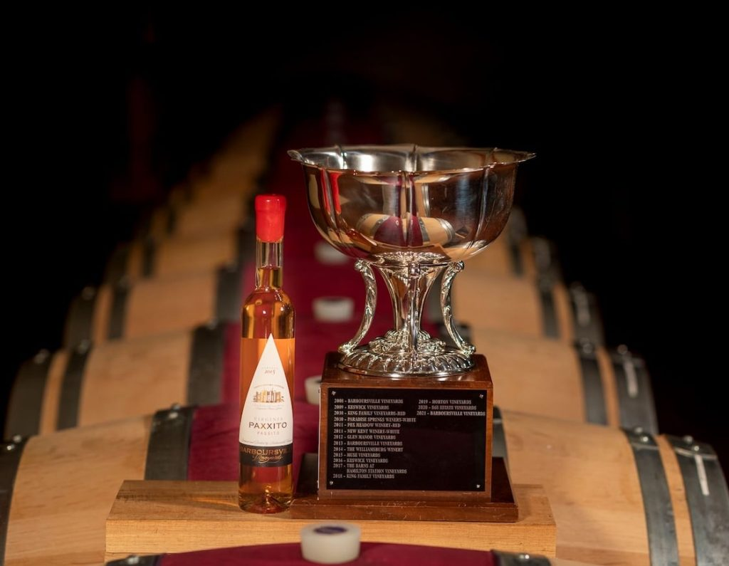 Barboursville Vineyard Wins 5th Virginia Governor's Cup